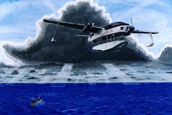 The story of the Blackburn B20 flying boat project
